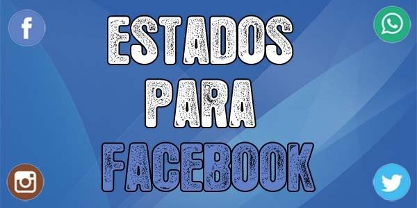 Estados para Facebook