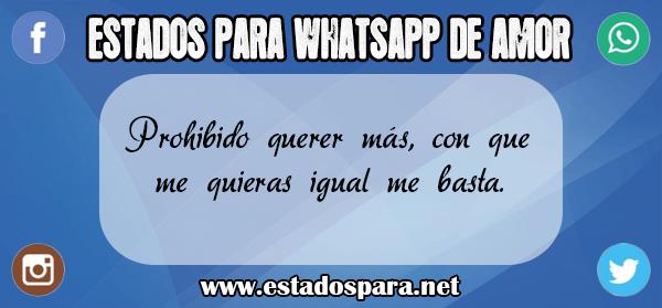 Estados Para Whatsapp De Amor Muy Bonitos