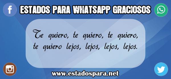 estados para whatsapp graciosos tres