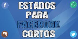 Estados para facebook cortos