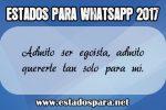 Estados para whatsapp 2017 1
