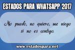 Estados para whatsapp 2017
