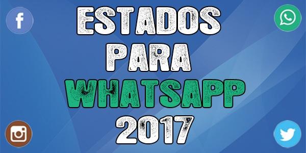 Estados para whatsapp 2017 destacada