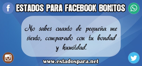 Estados para facebook bonitos 1
